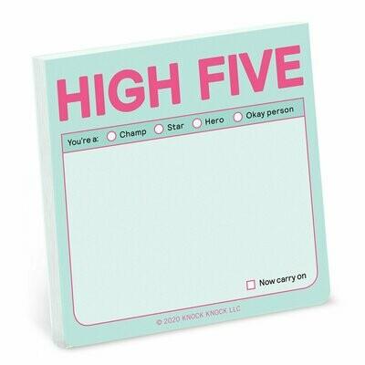 High Five Sticky Notes