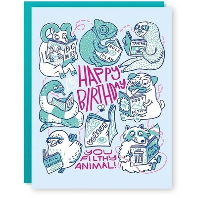 Filthy Animals Card