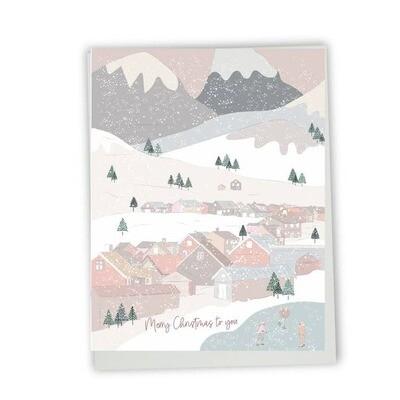 Snowy Landscape Christmas