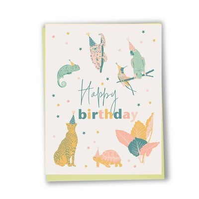 Exotic Animal Birthday