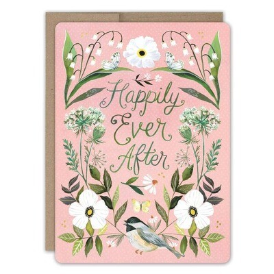 Happily Ever After White Floral