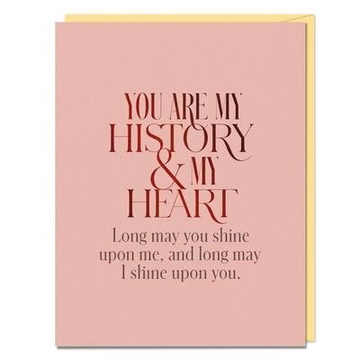 My History & My Heart