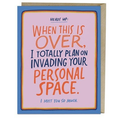Invading Your Personal Space