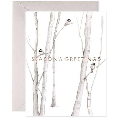 Snowy Birches Single