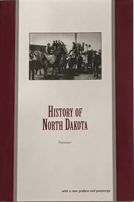 History of North Dakota by Elwyn B. Robinson