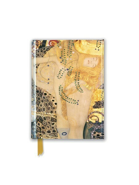 Gustav Klimt Water Serpents Small Lined Journal