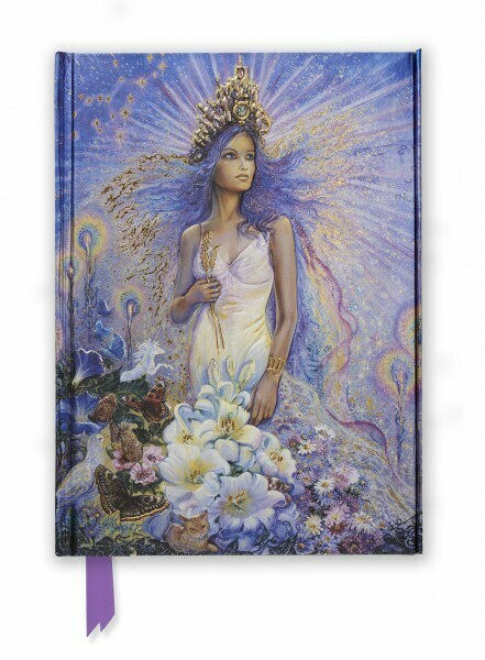 Josephine Wall Zodiac Series: Virgo Lined Notebook
