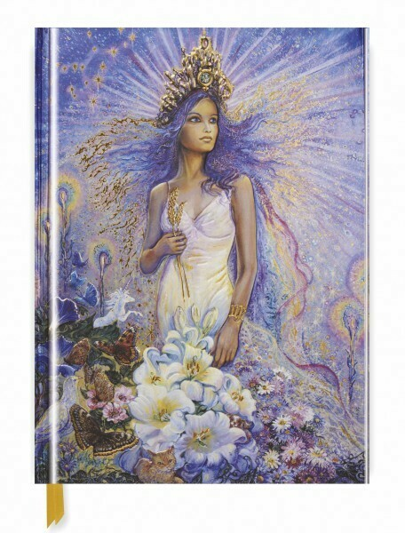 Josephine Wall Zodiac Series: Virgo Large Blank Notebook
