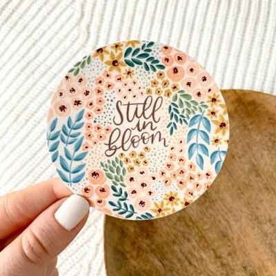 Still in Bloom Floral Sticker