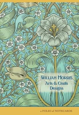 William Morris Arts & Crafts Designs Notecard Folio