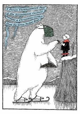 Edward Gorey: The Great Veiled Bear Holiday Cards
