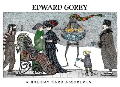 Edward Gorey Holiday Card Assortment