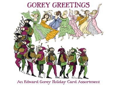 Gorey Greetings: An Edward Gorey Holiday Card Assortment