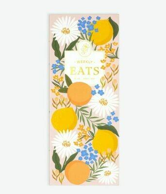Citrus Florals Pocket List Pad