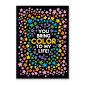 Color To My Life Birthday Card