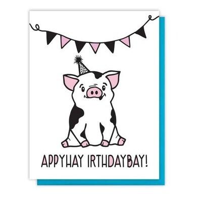 Appyhay Irthdaybay
