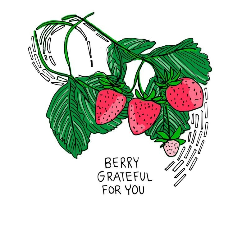 Berry Grateful for You