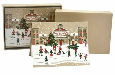Christmas Town Boxed Cards