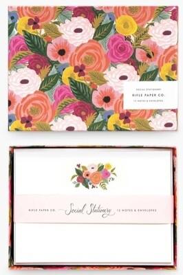 Juliet Rose Social Stationery Set