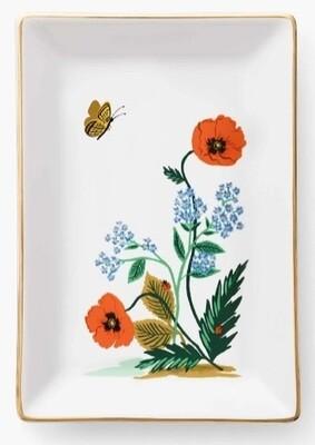Poppy Botanical Catchall Tray