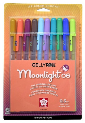 Gelly Roll Moonlight set of 10 Retro Colors