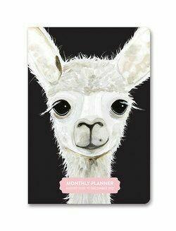 2021 Farm Animals Monthly Pocket Planner