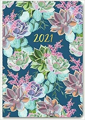 2021 Succulent Garden On-Time Planner