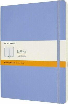 Hydrangea Moleskine Extra Large ruled Soft Cover Notebook