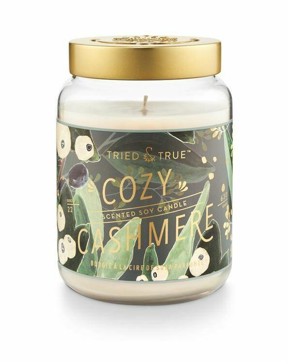 Cozy Cashmere 22 oz Jar Candle