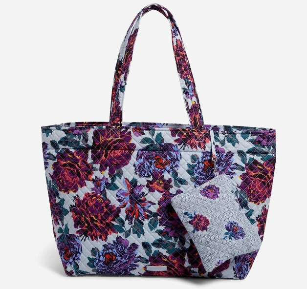 Grand Tote Set: Neon Blossoms