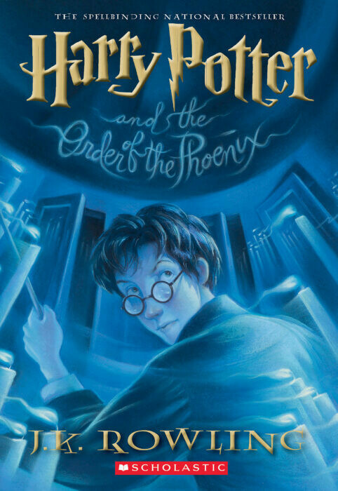 Harry Potter And The Order Of The Phoenix by J.K. Rowling (#5)