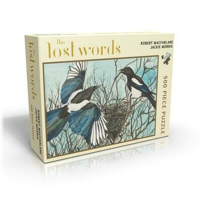 The Lost Words 500 Piece Puzzle