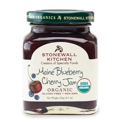 Organic Maine Blueberry Cherry Jam