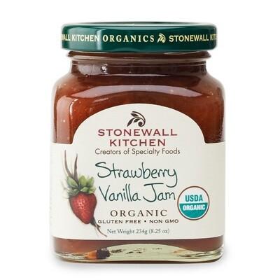 Organic Strawberry Vanilla Jam