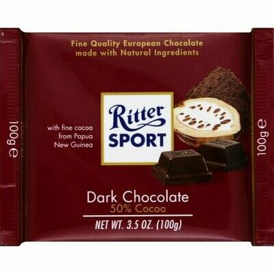 Ritter Sport Dark Chocolate 50% Cocoa