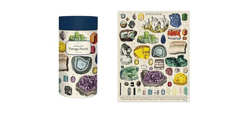 Mineralogy 1000 pc Jigsaw Puzzle