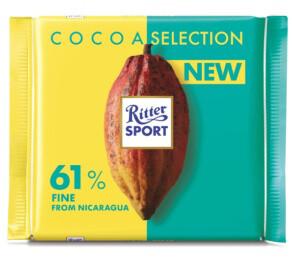 Ritter Sport 61% Fine Dark Chocolate