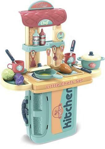 Kitchen in Case Playset