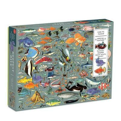 Deepest Dive 1000 piece Jigsaw Puzzle
