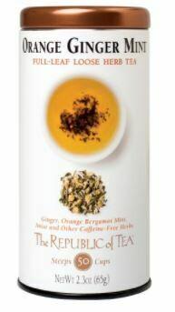 Orange Ginger Mint Loose Herb Tea