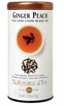Ginger Peach Loose Black Tea
