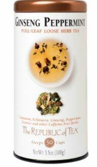 Ginseng Peppermint Loose Herb Tea
