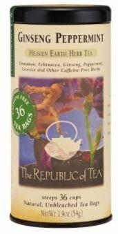 Ginseng Peppermint Herb Tea Bags