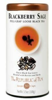 Blackberry Sage Black Full Leaf Tea