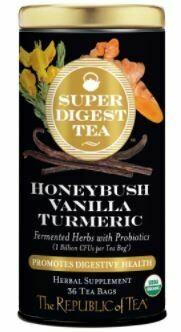Honeybush Vanilla Turmeric Tea
