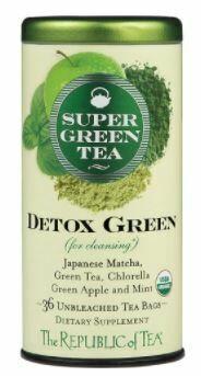 Detox Green Super Green Tea Bags
