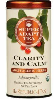 SuperAdapt Clarity and Calm Tea Bags