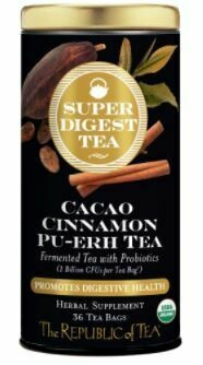 Super Digest Cacao Cinnamon Pu-Erh