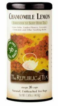 Chamomile Lemon Herb Tea Bags