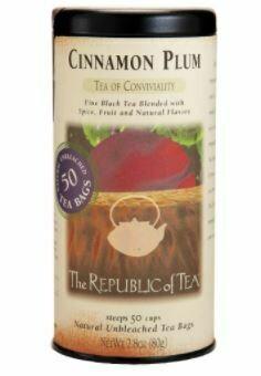 Cinnamon Plum Black Tea Bags